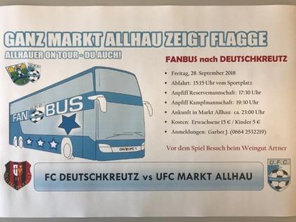 Fanbusfahrt Nach Deutschkreutz Ufc Z Immobilien Markt Allhau