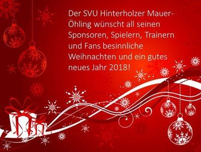 Bilder Weihnachten Neues Jahr.Frohe Weihnachten Und Ein Gutes Neues Jahr 2018 Mauer öhling Svu