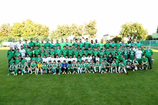Fussball Verbindet Sv Donau Klagenfurt St Ruprecht